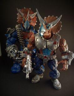 Triceraton (Teenage Mutant Ninja Turtles) Custom Action Figure