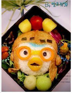 pororo food! (He's a Korean Cartoon Character.)