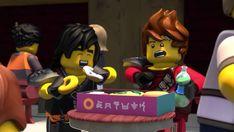Ninjago Kai, Lego Ninjago Movie, Ninjago Cole, Happy 10 Year Anniversary, Lego Film, Cartoon Crazy, Weird Pictures, Akita, Hilarious