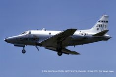 T-39 62-4476 Flight Check 1975 http://usafflightcheck.com  https://www.facebook.com/USAF.Flight.Check