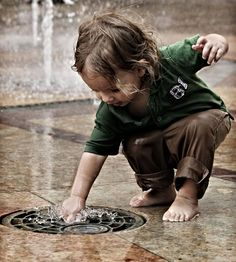 It's been said that rain falls on everyone the rich and the poor... those with child-like faith play in the puddles.