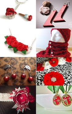 Passion red by Marie-Ève Lévesque on Etsy--Pinned with TreasuryPin.com #valentinesday #valentine #treasury #gift #idea #red #passion #colourful