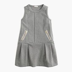 Shop the Girls' Classic Jumper at J.Crew and see the entire selection of Girls' Casual Dresses. Shop J. Girls Casual Dresses, Little Girl Dresses, Tween Fashion, School Fashion, Moda Kids, Glamour, Everyday Dresses, Jumpsuit Dress, Timeless Fashion
