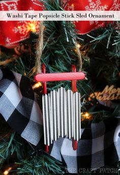 washi+tape+popsicle+stick+sled+ornament.jpg (650×950)