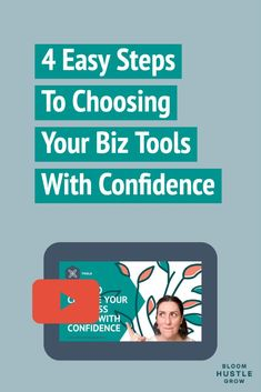 Choosing tools for your business can seem overwhelming if not downright scary, but it's really not! 😉 Learn the 4 questions I ask anyone struggling with choosing a new tool for their business. Creative Business, Business Tips, Online Business, Business Planning, Digital Marketing Strategy, Marketing Words, Content Marketing, Email Marketing, Good Time Management