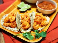 Spicy Tequila-Lime Shrimp Tacos