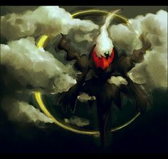 Darkrai. Don't forget to like this Pokemon Facebook page for more cool Pokemon content: http://www.facebook.com/shinydragonairx