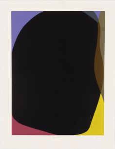 Gary Hume, Elsewhere (2012). Linocut