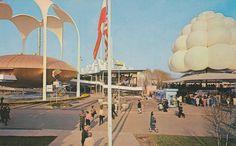 Johnson's Wax Pavilion - New York World's Fair 1964-65