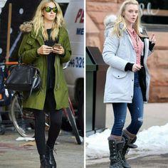 Para os dias de inverno mais frios, tem duas inspirações fashion com combinações mais pesadas.♥️💥 #creative #fashion #winter #styles
