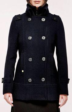 Soia & Kyo Nancy-BF Coat In Navy ....!