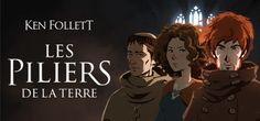 Ken Follett - Les Piliers de la Terre [PS4] PEGI 16 Playstation, Ps4, Earth Games, Ken Follett, Adventure Games, Dark Eyes, Anarchy, Novels, Consoles