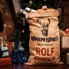 PERSONALIZADO - Saco de Navidad (Rudolph)
