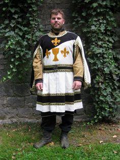 LARP knight festive clothing