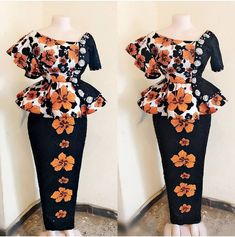ankara stil In Nigeria and other African countries that are into 2019 ASO EBI WEDDING, it is slowly becoming a trending habit for women and young beautiful ladies getting t African Wear Dresses, African Fashion Ankara, Latest African Fashion Dresses, African Inspired Fashion, African Print Fashion, African Attire, African Prints, Ankara Rock, African Print Dress Designs