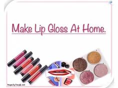 This Lip Gloss Helps to heal dry and chapped lips also keep your lips hydrated . Glossier Moisturizer, How To Make Eyeshadow, Diy Lip Gloss, Chapped Lips, Your Lips, Beauty Hacks, Remedies, Skincare, Healing