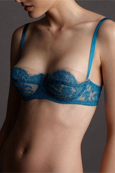 Marianas Bra in SHOP Bridesmaids & Partygoers Lingerie at BHLDN. (something blue) Belle Lingerie, Lingerie Mignonne, Lingerie Vintage, Lingerie Fine, Pretty Lingerie, Beautiful Lingerie, Bra Lingerie, Classic Lingerie, Corsets