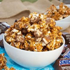 Ultimate Movie Night Snack: Snickers Popcorn What is your favorite candy bar? One of my absolute favorites is Snickers The best way to watch a movie is with a bucket of popcorn, so at your next movie marathon or dorm room movie night, make your friends some Snickers popcorn! Ingredients: 8 quarts of popped corn 1 cup of salted butter 2... Read More at http://www.chelseacrockett.com/wp/food-2/ultimate-movie-night-snack-snickers-popcorn/. Tags: #Food, #MidnightSnack, #S