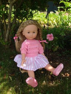 Doll Clothes Patterns, Doll Patterns, Clothing Patterns, Nancy Doll, Barbie, Knitted Dolls, Little Darlings, Crochet Clothes, Baby Dolls