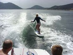 wakesurfing- it can't be that hard...right?!