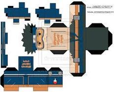 naruto papercraft template - Google Search
