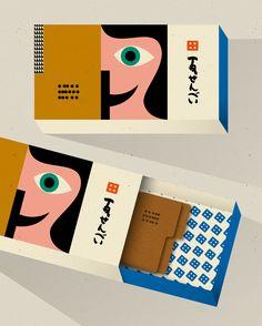Anna Kovecses Kawara Senbei packaging.