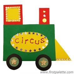 Step 13 Circus Train craft