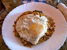 Cape Verde - The national dish, Catchupa, is a stew of hominy and beans with fish or meat and topped with a fried egg