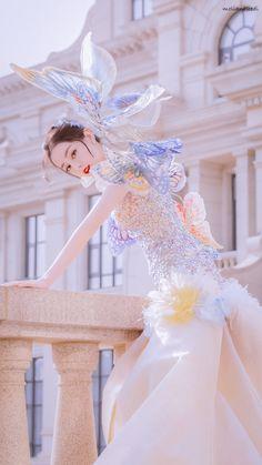 Foto Jungkook, Chinese Actress, Pose Reference, My Idol, Kdrama, Cute Girls, Dress Up, Korean, Style Inspiration