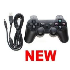 Dual Shock Wired PS3 (PlayStation 3) Console Controller --- http://www.amazon.com/Shock-Wired-PlayStation-Console-Controller-3/dp/B004EHT7R2/?tag=makmontec-20