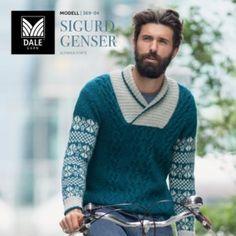 Fair Isle Pattern, Norway, Cross Stitch Patterns, Men Sweater, Knitting, Boys, Sweaters, Inspiration, Fashion