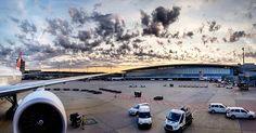 one of those mornings...   #happylanding #welcomeback #homebase #cabincrewlife #flyswiss #boeing777
