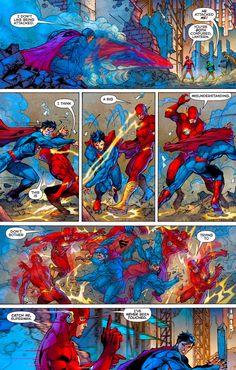 Superman & thee Flash