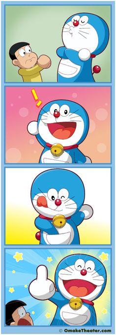 Theres the Doraemon
