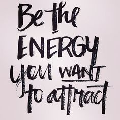 Be the energy you want to attract. Yeah baby, this is totally #WildlyAlive! #selflove #fitness #health #nutrition #weight #loss LEARN MORE → www.WildlyAliveWeightLoss.com