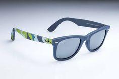 Statement Sunglasses - Ray-Ban Wayfarer in Blue Camouflage Ray Ban Sunglasses Outlet, Ray Ban Outlet, Oakley Sunglasses, Sunglasses Women, Camouflage, Ray Ban Eyewear, Cheap Ray Bans, Ray Ban Glasses, Street Style Women
