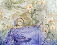 Immortal Ephemera : Her Joys and Her Sorrows | Stephanie Pui-Mun Law - Shadowscapes