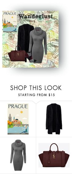 """""""Prague Travel Look"""" by maddi-kate ❤ liked on Polyvore featuring Yves Saint Laurent and Roberto Festa"""