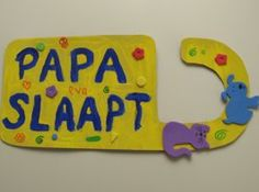 shhht, daddy is sleeping - doorhanger Diy For Kids, Crafts For Kids, Pajamas All Day, Teacher Thank You, Everything And Nothing, Working Mother, Mother And Father, Creative Kids, Happy Fathers Day