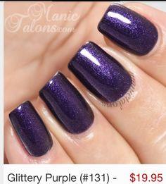 8 bästa bilderna på < Glitter Purple | naglar