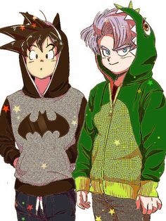 "Goten & Trunks | DB小ネタ集2 | おちゃのこ [pixiv] http://www.pixiv.net/member_illust.php?mode=medium&illust_id=48507748  USE CODE ""PIN5"" TO RECEIVE 5% OFF Shop now at www.animecart.com"
