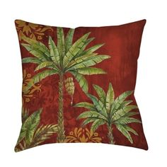 Shop for Thumbprintz Palms Pattern II Indoor/ Outdoor Pillow. Free Shipping on orders over $45 at Overstock.com - Your Online Home Decor Outlet Store! Get 5% in rewards with Club O!