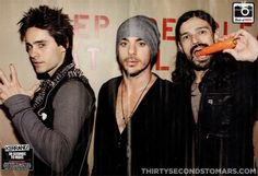 The brothers Leto...and Tomo.