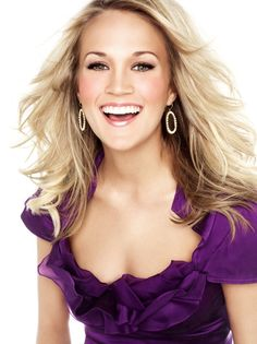 Hi I'm Carrie Underwood and I have perfect teeth and smile and skin and hair I'm pretty much flawless no big deal though.