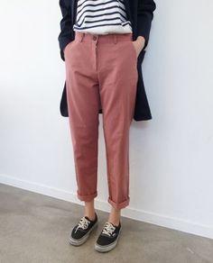 Blush trouser