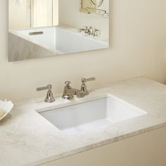 Kohler Verticyl Rectangular Undermount Bathroom Sink & Reviews | Wayfair