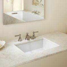 Kohler Verticyl Rectangular Undermount Bathroom Sink & Reviews | Wayfair
