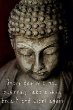 the fact that we have a new day, every day is hopeful in itself and wonderful. God Bless us.