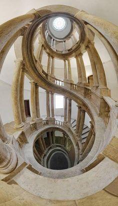 Silvio Zangarini~ Staircase in Palazzo del Quirinale, Roma Beautiful Architecture, Beautiful Buildings, Architecture Details, Interior Architecture, Interior And Exterior, Bamboo Architecture, Grand Staircase, Staircase Design, Palazzo