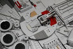 In a few weeks, the build will be finished. Millennium Falcon, Lego, Star Wars, It Is Finished, Starwars, Legos, Star Wars Art